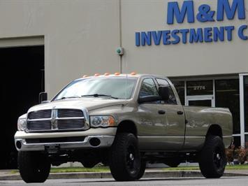 2004 Dodge Ram 3500 SLT 4dr Quad Cab / 4X4 / 5.9L DIESEL / 6-SPEED MAN Truck