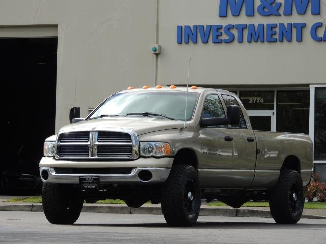 2004 Dodge Ram 3500 SLT 4dr Quad Cab / 4X4 / 5.9L DIESEL / 6-SPEED MAN - Photo 44 - Portland, OR 97217