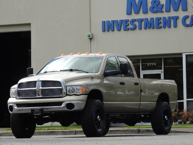2004 Dodge Ram 3500 SLT 4dr Quad Cab / 4X4 / 5.9L DIESEL / 6-SPEED MAN - Photo 36 - Portland, OR 97217