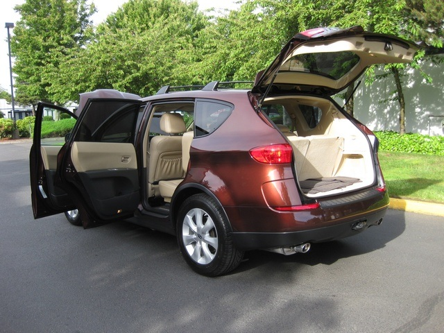 2006 subaru b9 tribeca 7 pass awd leather 3rd seat. Black Bedroom Furniture Sets. Home Design Ideas