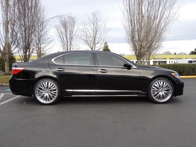 2008 lexus ls 600h l ultra luxury pkg 22 asanti rims. Black Bedroom Furniture Sets. Home Design Ideas