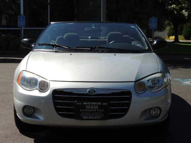 2004 Chrysler Sebring Touring / Convertible / ONly 74K MILES - Photo 5 - Portland, OR 97217