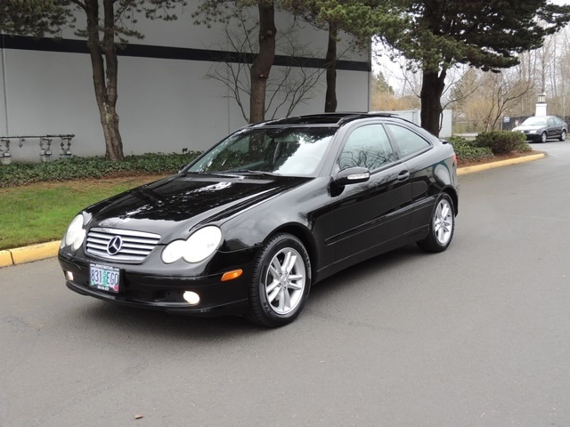 2003 MercedesBenz C230 Supercharged Coupe Panorama Roof  77k miles