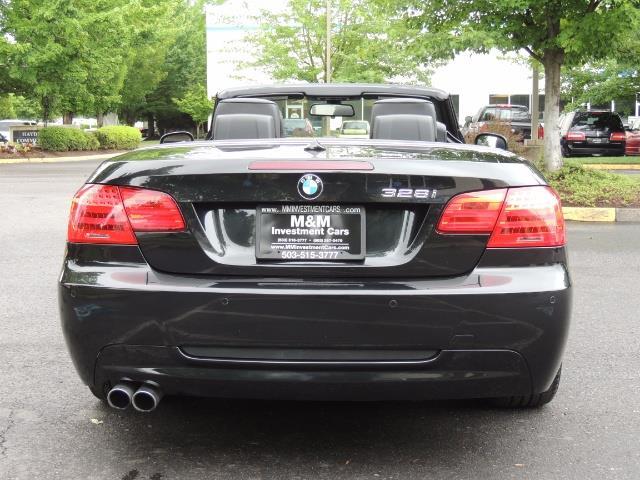 2013 BMW 328i M-SPORT Convertible / NAVi / 1-Owner - Photo 6 - Portland, OR 97217