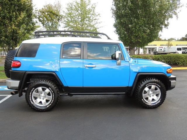 2007 Toyota Fj Cruiser 4wd Trd Package Automatic