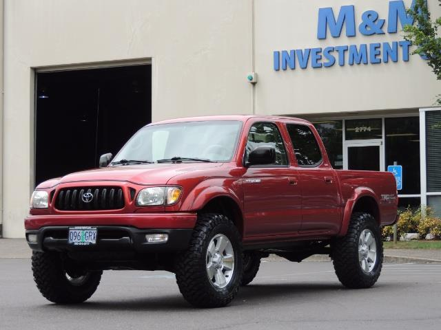 "2002 Toyota Tacoma V6 4dr Double Cab 4WD Lifted 33 ""Mud RR DIF - Photo 1 - Portland, OR 97217"