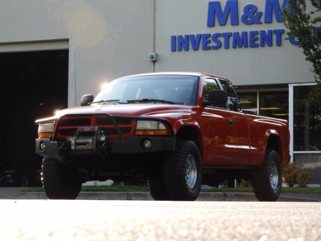 2000 Dodge Dakota SLT 4X4 V8 / CUSTOM BUMPER /  WINCH / LOW MILES !! - Photo 41 - Portland, OR 97217