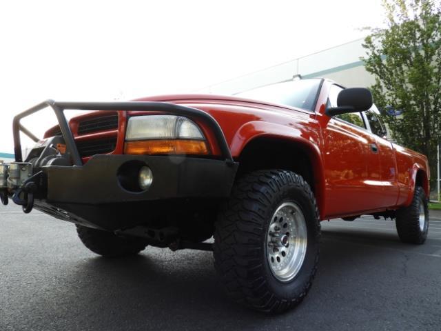 2000 Dodge Dakota SLT 4X4 V8 / CUSTOM BUMPER /  WINCH / LOW MILES !! - Photo 11 - Portland, OR 97217