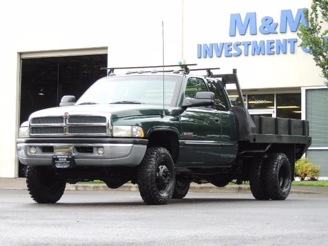 2001 Dodge Ram 3500 SLT Plus 4dr / 4X4 / 5.9L DIESEL/ 5-SPEED / DUALLY - Photo 46 - Portland, OR 97217