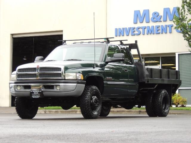 2001 Dodge Ram 3500 SLT Plus 4dr / 4X4 / 5.9L DIESEL/ 5-SPEED / DUALLY - Photo 51 - Portland, OR 97217