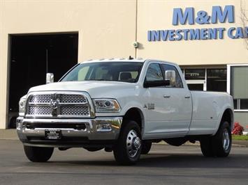 2016 Ram 3500 Laramie 4X4 6.7 Cummin Diesel Dually 1-Owner 9400K Truck