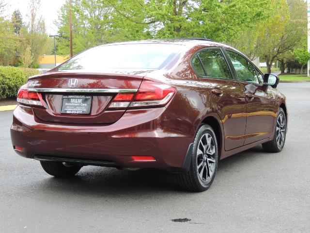2015 Honda Civic EX / 4DR / Backup Cam / Sunroof / 1-Owner - Photo 8 - Portland, OR 97217
