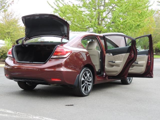 2015 Honda Civic EX / 4DR / Backup Cam / Sunroof / 1-Owner - Photo 30 - Portland, OR 97217