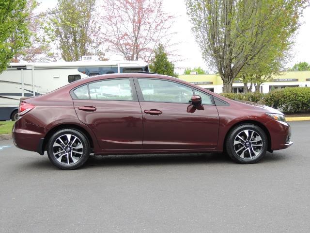 2015 Honda Civic EX / 4DR / Backup Cam / Sunroof / 1-Owner - Photo 4 - Portland, OR 97217