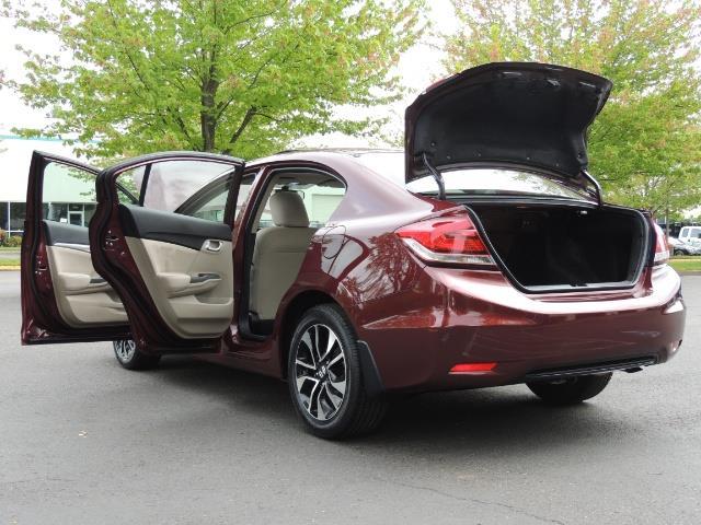 2015 Honda Civic EX / 4DR / Backup Cam / Sunroof / 1-Owner - Photo 27 - Portland, OR 97217