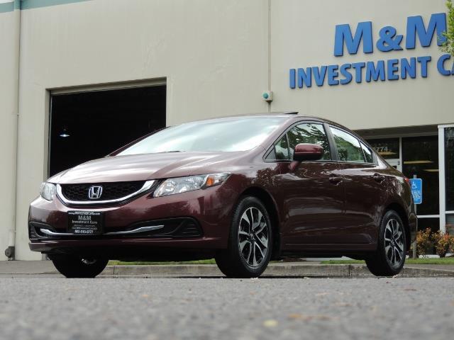 2015 Honda Civic EX / 4DR / Backup Cam / Sunroof / 1-Owner - Photo 49 - Portland, OR 97217