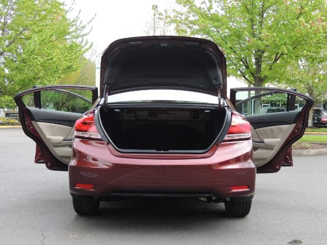 2015 Honda Civic EX / 4DR / Backup Cam / Sunroof / 1-Owner - Photo 28 - Portland, OR 97217