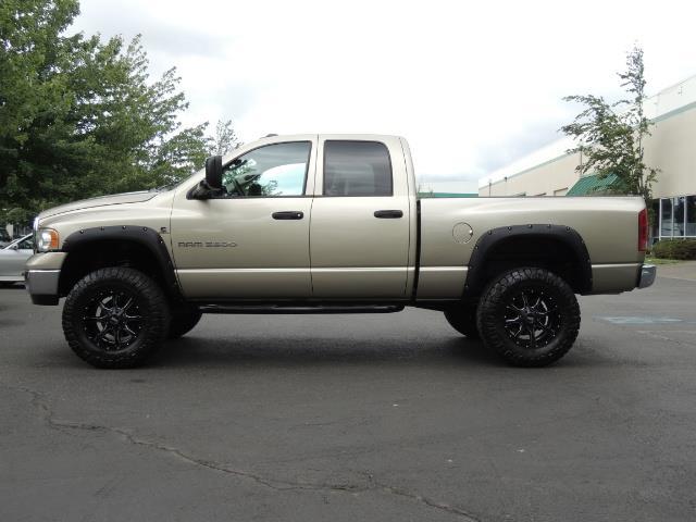 2004 Dodge Ram 3500 Laramie 1-TON 4X4 / 5.9 L CUMMINS DIESEL / LIFTED - Photo 3 - Portland, OR 97217