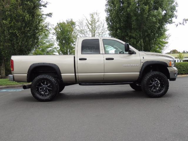2004 Dodge Ram 3500 Laramie 1-TON 4X4 / 5.9 L CUMMINS DIESEL / LIFTED - Photo 4 - Portland, OR 97217