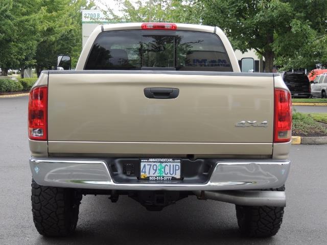 2004 Dodge Ram 3500 Laramie 1-TON 4X4 / 5.9 L CUMMINS DIESEL / LIFTED - Photo 6 - Portland, OR 97217