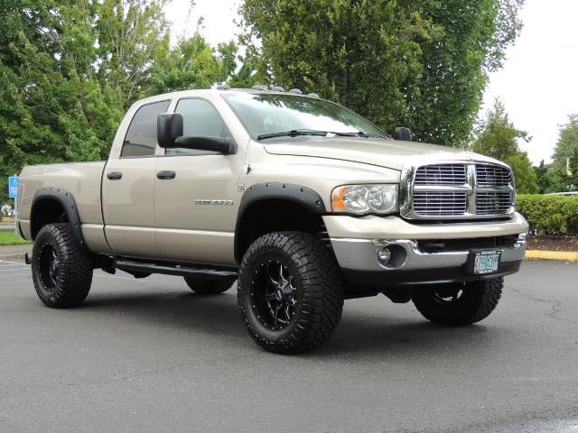 2004 Dodge Ram 3500 Laramie 1-TON 4X4 / 5.9 L CUMMINS DIESEL / LIFTED - Photo 2 - Portland, OR 97217