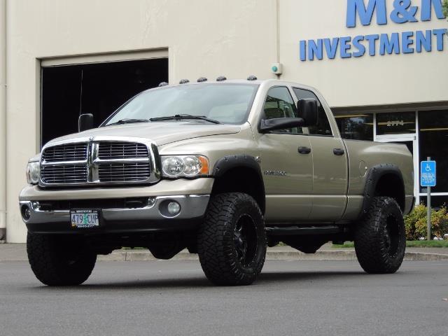 2004 Dodge Ram 3500 Laramie 1-TON 4X4 / 5.9 L CUMMINS DIESEL / LIFTED - Photo 1 - Portland, OR 97217