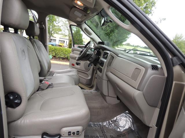 2004 Dodge Ram 3500 Laramie 1-TON 4X4 / 5.9 L CUMMINS DIESEL / LIFTED - Photo 17 - Portland, OR 97217