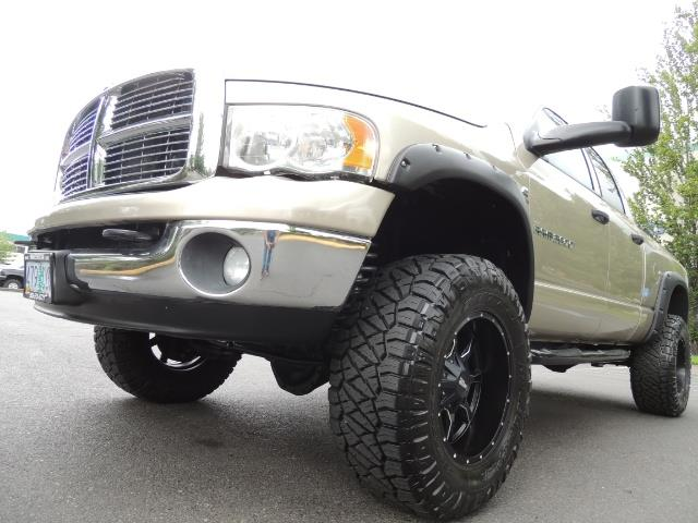 2004 Dodge Ram 3500 Laramie 1-TON 4X4 / 5.9 L CUMMINS DIESEL / LIFTED - Photo 9 - Portland, OR 97217