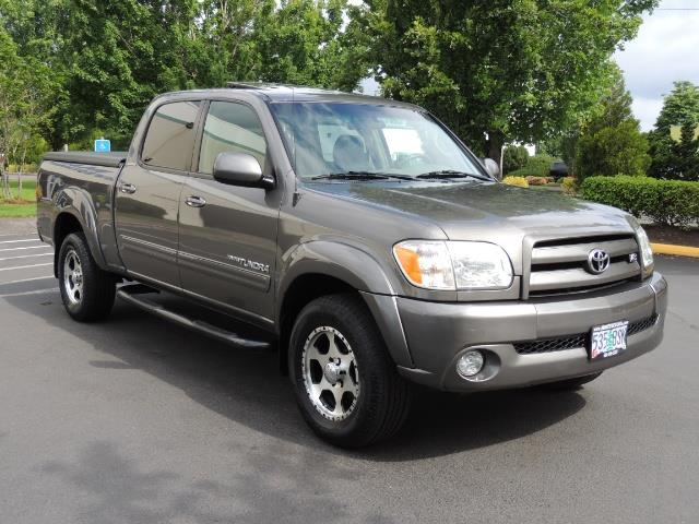 2005 toyota tundra limited double cab leather sun roof loaded. Black Bedroom Furniture Sets. Home Design Ideas
