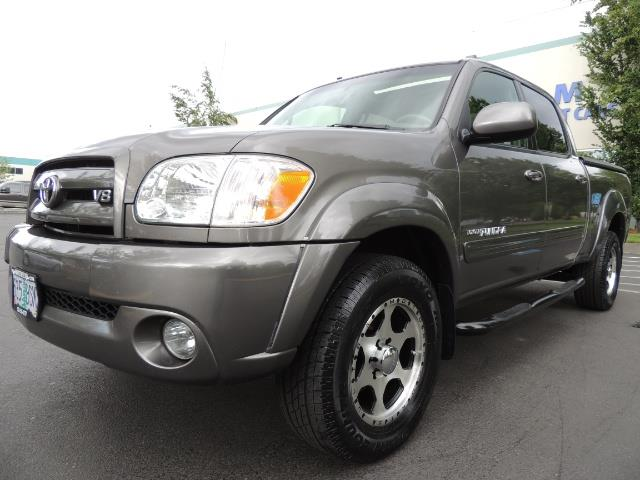 2005 Toyota Tundra Limited Double Cab Leather Sun Roof Loaded