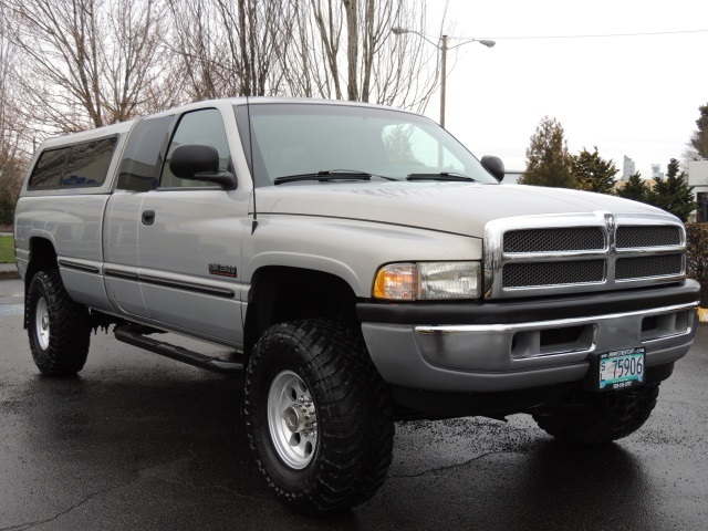 1999 dodge ram 2500 laramie 4x4 longbed 5 9l cummins diesel lifted. Black Bedroom Furniture Sets. Home Design Ideas