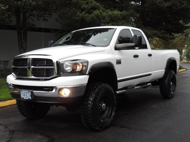 2007 dodge ram 2500 slt 4x4 5 9l diesel long bed lifted lifted. Black Bedroom Furniture Sets. Home Design Ideas