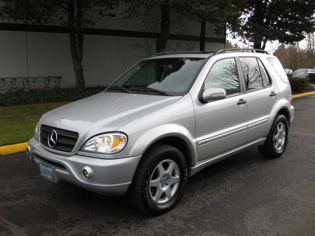 2002 mercedes benz ml320 sport pkg awd