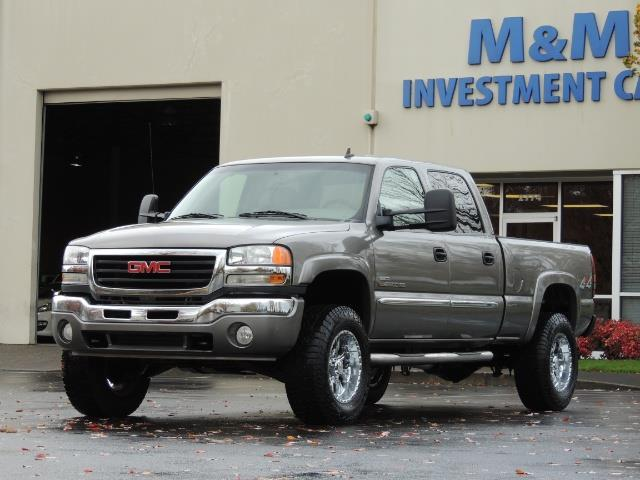 2007 GMC Sierra 2500 SLT 4X4 / 6.6 Duramax Diesel / LBZ Motor / Allison - Photo 1 - Portland, OR 97217