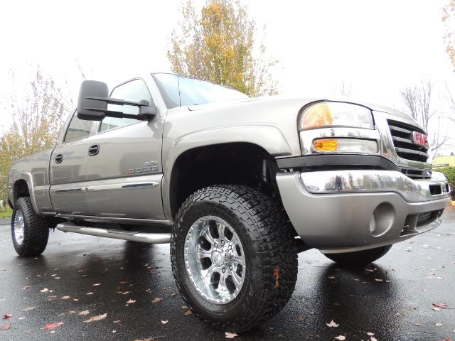 2007 GMC Sierra 2500 SLT 4X4 / 6.6 Duramax Diesel / LBZ Motor / Allison - Photo 10 - Portland, OR 97217