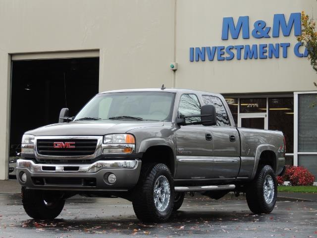 2007 GMC Sierra 2500 SLT 4X4 / 6.6 Duramax Diesel / LBZ Motor / Allison - Photo 36 - Portland, OR 97217