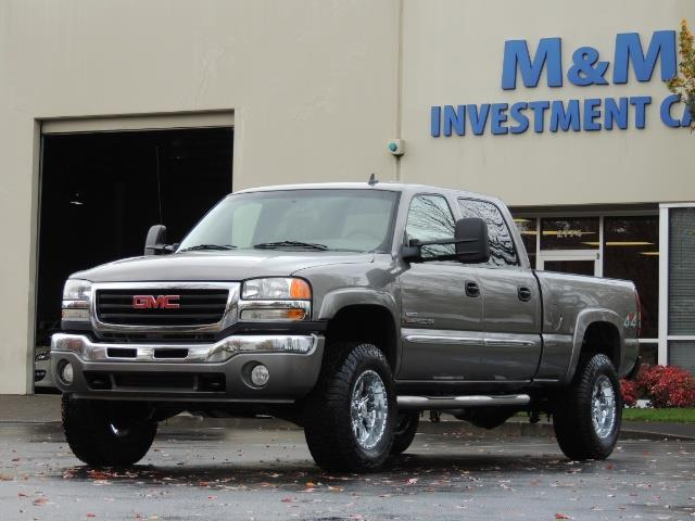 2007 GMC Sierra 2500 SLT 4X4 / 6.6 Duramax Diesel / LBZ Motor / Allison - Photo 38 - Portland, OR 97217