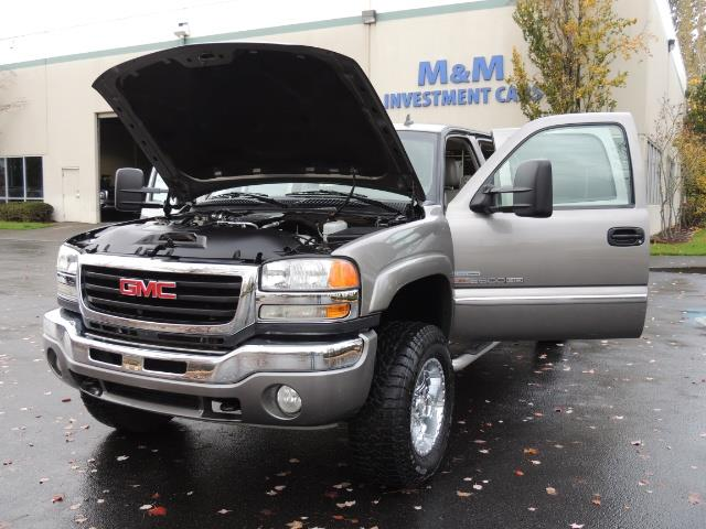2007 GMC Sierra 2500 SLT 4X4 / 6.6 Duramax Diesel / LBZ Motor / Allison - Photo 39 - Portland, OR 97217