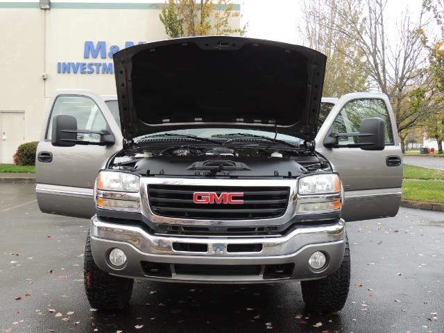 2007 GMC Sierra 2500 SLT 4X4 / 6.6 Duramax Diesel / LBZ Motor / Allison - Photo 34 - Portland, OR 97217