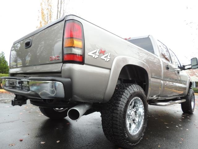 2007 GMC Sierra 2500 SLT 4X4 / 6.6 Duramax Diesel / LBZ Motor / Allison - Photo 12 - Portland, OR 97217