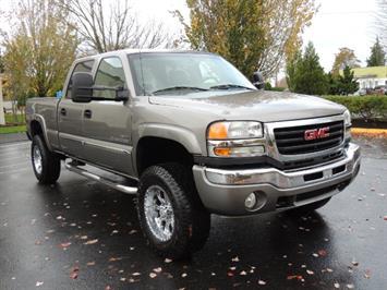 2007 GMC Sierra 2500 SLT 4X4 / 6.6 Duramax Diesel / LBZ Motor / Allison Truck
