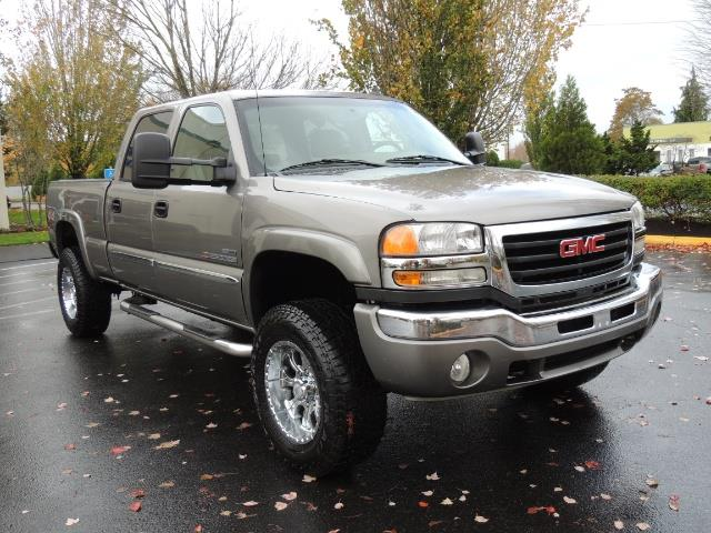 2007 GMC Sierra 2500 SLT 4X4 / 6.6 Duramax Diesel / LBZ Motor / Allison - Photo 2 - Portland, OR 97217