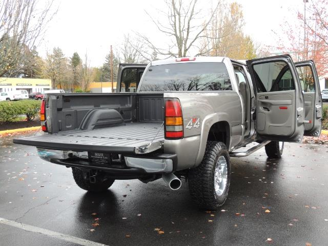 2007 GMC Sierra 2500 SLT 4X4 / 6.6 Duramax Diesel / LBZ Motor / Allison - Photo 16 - Portland, OR 97217