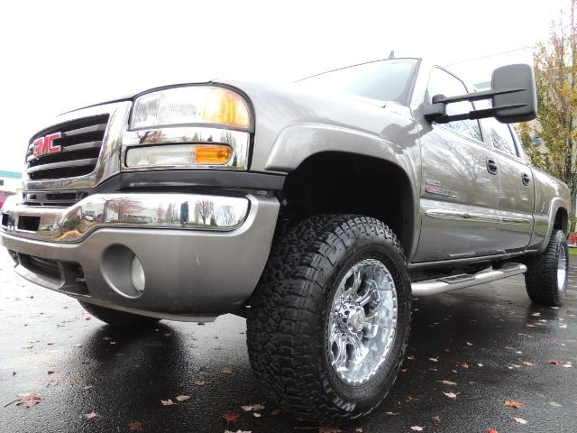 2007 GMC Sierra 2500 SLT 4X4 / 6.6 Duramax Diesel / LBZ Motor / Allison - Photo 9 - Portland, OR 97217