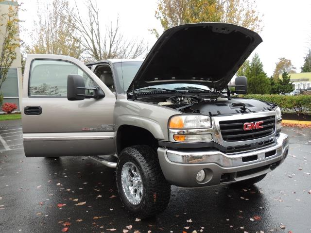 2007 GMC Sierra 2500 SLT 4X4 / 6.6 Duramax Diesel / LBZ Motor / Allison - Photo 41 - Portland, OR 97217