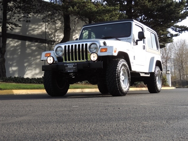 2005 Jeep Wrangler Unlimited 4wd 6 Spd Manual Moonroof Lifted