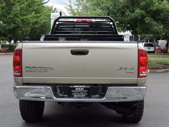 2004 Dodge Ram 2500 SLT 4dr / 4X4 / 5.9L DIESEL / 6-SPEED  / LIFTED - Photo 6 - Portland, OR 97217
