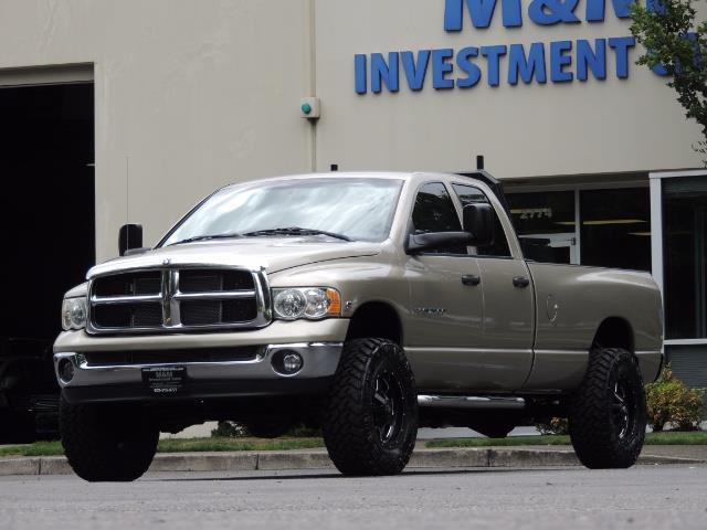 2004 Dodge Ram 2500 SLT 4dr / 4X4 / 5.9L DIESEL / 6-SPEED  / LIFTED - Photo 1 - Portland, OR 97217