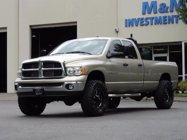 2004 Dodge Ram 2500 SLT 4dr / 4X4 / 5.9L DIESEL / 6-SPEED  / LIFTED - Photo 34 - Portland, OR 97217