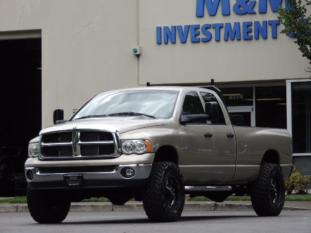 2004 Dodge Ram 2500 SLT 4dr / 4X4 / 5.9L DIESEL / 6-SPEED  / LIFTED - Photo 47 - Portland, OR 97217